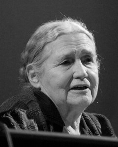 Doris Lessing, 1919-2013, British author