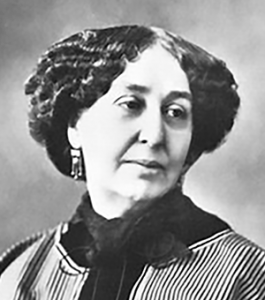 George Sand (Amantine Aurore Lucile Dupin) 1804-1876, French Romantic author
