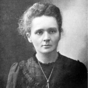 Marie Curie, 1867-1934, Polish, naturalized-French physicist and chemist