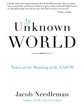 An Unknown World Notes on the Meaning of the Earth  by Jacob Needleman