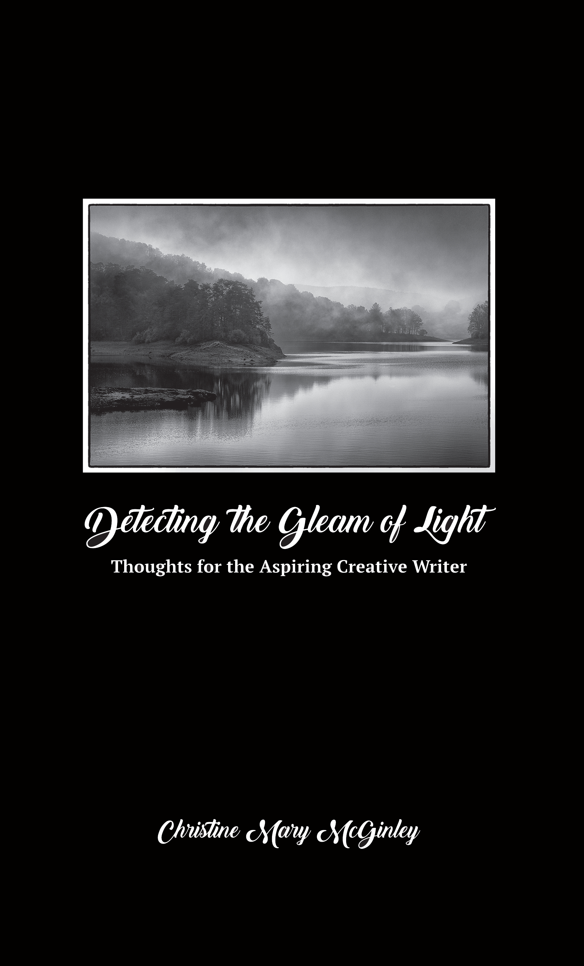 detecting the gleam of light by Christine Mary McGinley